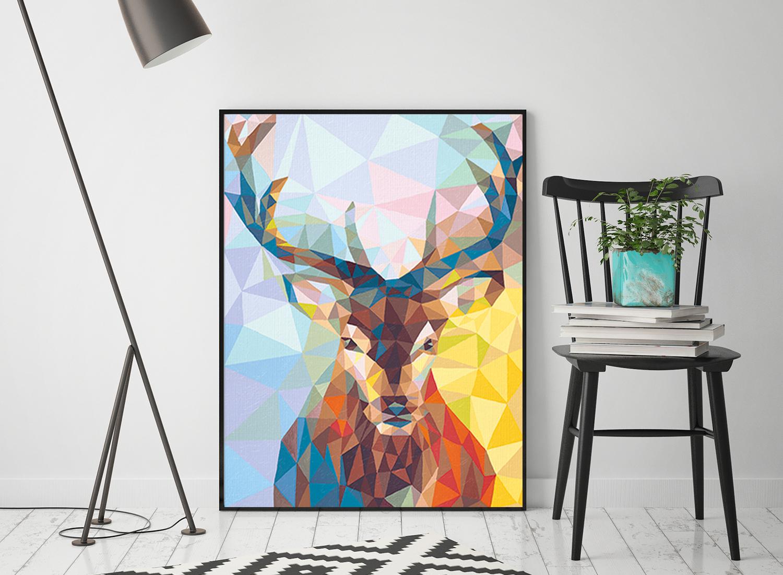 malowanie-po-numerach-obraz-jelen-artbypart